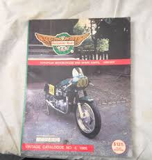 1985 MOTORCYCLE PARTS CATALOG ACCESSORY MART EUROPEAN MOPTORCYCLE
