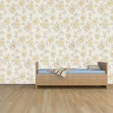 100 Ochre Home Graham Brown Wallpaper Roll Decor Floral Design Colour 18400