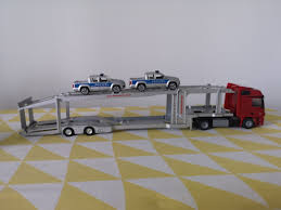 100 Toy Truck And Trailer Siku 150 Merc Trailer With 2 Police Trucks S Games Others On