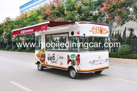 China New Mobile Fashion Food Truck With Catering Equipment Photos ...