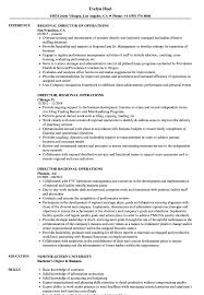 Director, Regional Operations Resume Samples   Velvet Jobs 12 Operations Associate Job Description Proposal Resume Examples And Samples Free Logistics Manager Template Mplates 2019 Download Executive Services Professional Food Templates To Showcase Example Vice President For An Candidate Retail How Draft A Sample Restaurant Fresh Educational Director Of 13 Transportation