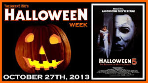 Donald Pleasence Halloween 5 by Halloween 5 The Revenge Of Michael Myers Movie Review Youtube
