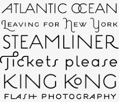deco typography history myfonts creative characters november 2007