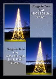 Flagpole Christmas Tree by Royal Christmas Online Catalogus 2016