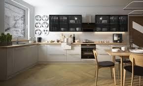 küchenzeile küchenblock modern küche komplett 198x445cm weiß schwarz aluminium