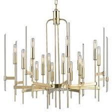 Modern Antique Brass Chandeliers