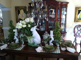 Spring Kitchen Table Centerpieces New Easter Dining Room Decorating Ideas
