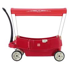 Step2 Tan 2 In 1 by Step2 All Around Canopy Wagon Red Target