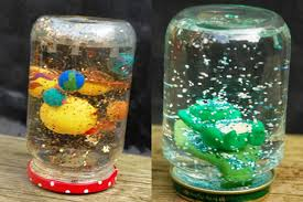 A Homemade Snow Globe Is Childhood Must Finally We Have Made Some The Best Part About These Globes That They Give You Perfect Opportunity To