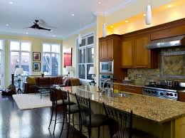 paint ideas for kitchen living room combo home design inspiration