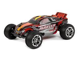 100 Stadium Truck TRA440963RED Traxxas Nitro Rustler 110 RTR Red EBay