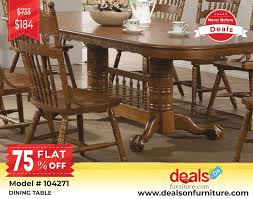 Description Buy Brooks Dining Table