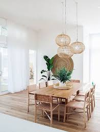 chic boho dining room decor ideas with rustic