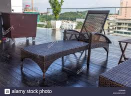 100 Kd Pool Chairs Beside The Swimming Pool Stock Photo 163085250 Alamy