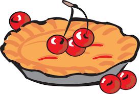 Apple pie slice clipart