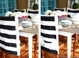How To Style No Sew Chair Back Covers