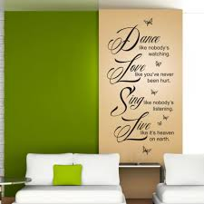 wandtattoo spruch wandaufkleber wohnzimmer