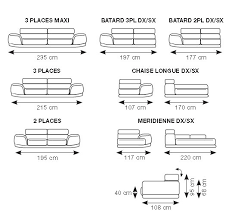 hauteur assise canapé canapé angle cezanne