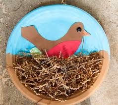 40 Fun And Fantastic Paper Plate Crafts Pertaining To Bird Nest Craft