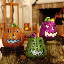 Fiber Optic Halloween Decorations by Halloween Pumpkin Decorations 1991 Now Ebay