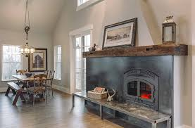 A Lifetime Love Of Barns Inspires A New Custom Home - Silent ... Gray Rustic Reclaimed Barn Beam Mantel 6612 X 6 5 Wood Fireplace Mantels Hollowed Out For Easy Contemporary As Wells Real 26 Projects That The Barnwood Builders Crew Would Wall Shelf Nyc Nj Ct Li Modern Timber Craft 66 8 Distressed Best 25 Wood Mantle Ideas On Pinterest 60 10 3