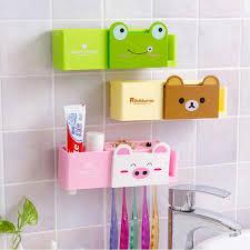 Cute Girly Bathroom Sets by Cartoon Minions Toothbrush Holder Bathroom Set Accessories Cute