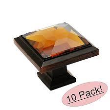 cosmas 5883orb a oil rubbed bronze cabinet hardware square knob