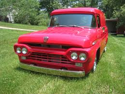 100 1960 Ford Panel Truck Hot Rod 57 Doug Jenkins Garage