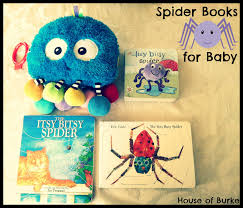 Preschool Halloween Spider Books by House Of Burke Baby Exploring Spiders