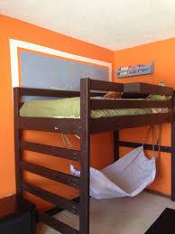 Wooden Loft Bed Design by Bedroom Attractive Junior Height Brown Wooden Loft Beds Design