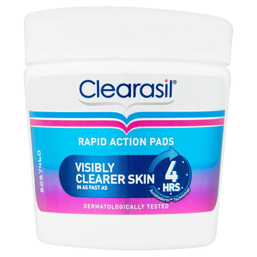 Clearasil Rapid Action Pads - 65ct