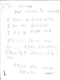 Real Letters to Santa Claus from Kids – s Scans of