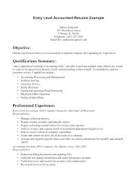 Cover Letter Example 2014 Bookkeeper Resume Sample Entry Level Accounting Examples