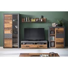 tv lowboard indy wohnzimmer set anbauwand wohnzimmer