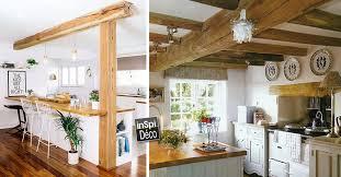 cuisine bois et combiner bois et blanc dans la cuisine voici 20 idées