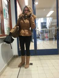 Low Street Fashion Outfit In Camel Tone For Winter