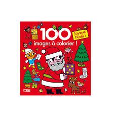 Livre 100 Images à Colorier Noël Pour Enfant De 3 Ans à 6 Ans