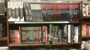5E of the Role Playing Games bookshelves at Barnes & Noble
