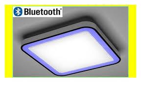led rgb deckenleuchte dimmbar bluetooth warmweiß smart ios