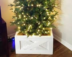 White Christmas Tree Stand Box Replace Your Skirt