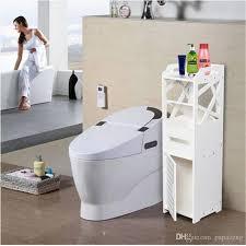 großhandel großhandel 3 tier badezimmer schrank mit 2 türen 23 23 80cm weiß storage holders racks home storage organisation badezimmer regal