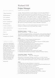 Entry Level Project Management Resume Awesome Manager Examples Sfbaal