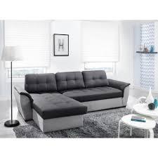 canapé gris foncé canapé d angle convertible nevo gris foncé gris clair avec coffre