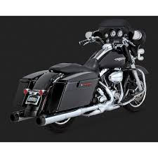 Vance And Hines Dresser Duals Black by Vance And Hines 4 1 2in Hi Output Slip On Carbon Carbon Fiber