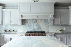 kitchen with grey marble backsplash contemporary kitchen