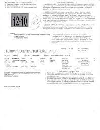 100 Truck Paper Florida Department Of Environmental Protection Waste Tire Collector