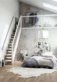 Loft Bedroom Design With Lots Of Creative Accesories
