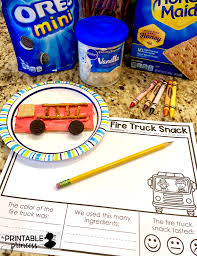 Fire Safety Week Snack And Freebie | The Printable Princess