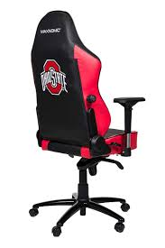 MAXNOMIC OSU (Black Edition, Large (Office)) The Ohio State University  Official NCAA Chair Pottery Barns Playstation Fniture Is The New Highend X Rocker Xpro 300 Black Pedestal Gaming Chair With Builtin Speakers Ncaa High Back Chairs By Rawlings 2pack Imperial Goto Source For This Years Dorm Room Must College Covers Ohio State Buckeyes Bunjo Dual Commander Available In Multiple Colors Zline Executive Game Tables Shop Noblechairs Epic Series White South Africa Style Office Racing Design Corsair T1 Race And Pc Proline Tall Swivel Outdoor