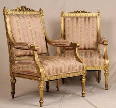 Fine Pair French Louis XVI Carved Gilt Antique Upholstered ... French Antique Louis Xvi Style Painted Bgere Chair On The Highboy Armchair Huff Harrington Mint Green Inoutdoor Chairish Georges Jacob Fauteuil From Xvis Salon Des Fine Pair Carved Gilt Upholstered Xv Hand Fauteuil Or Sold Ruby Lane Of Cream Lacquered Wood Bgere Armchairs Style Chair Tiffany Lamps Bronze Statues Baroque Black Roco Fniture And 16 Giltwood Side Chairs Interiors Fauteuils A La Reine Armchairs Modern